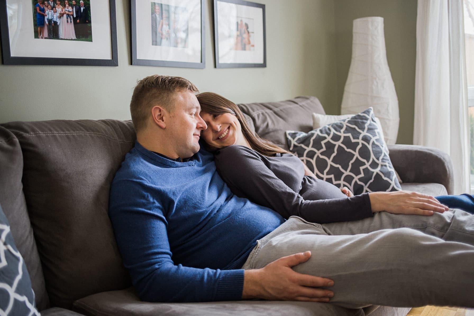 at home maternity ottawa - carley teresa photography