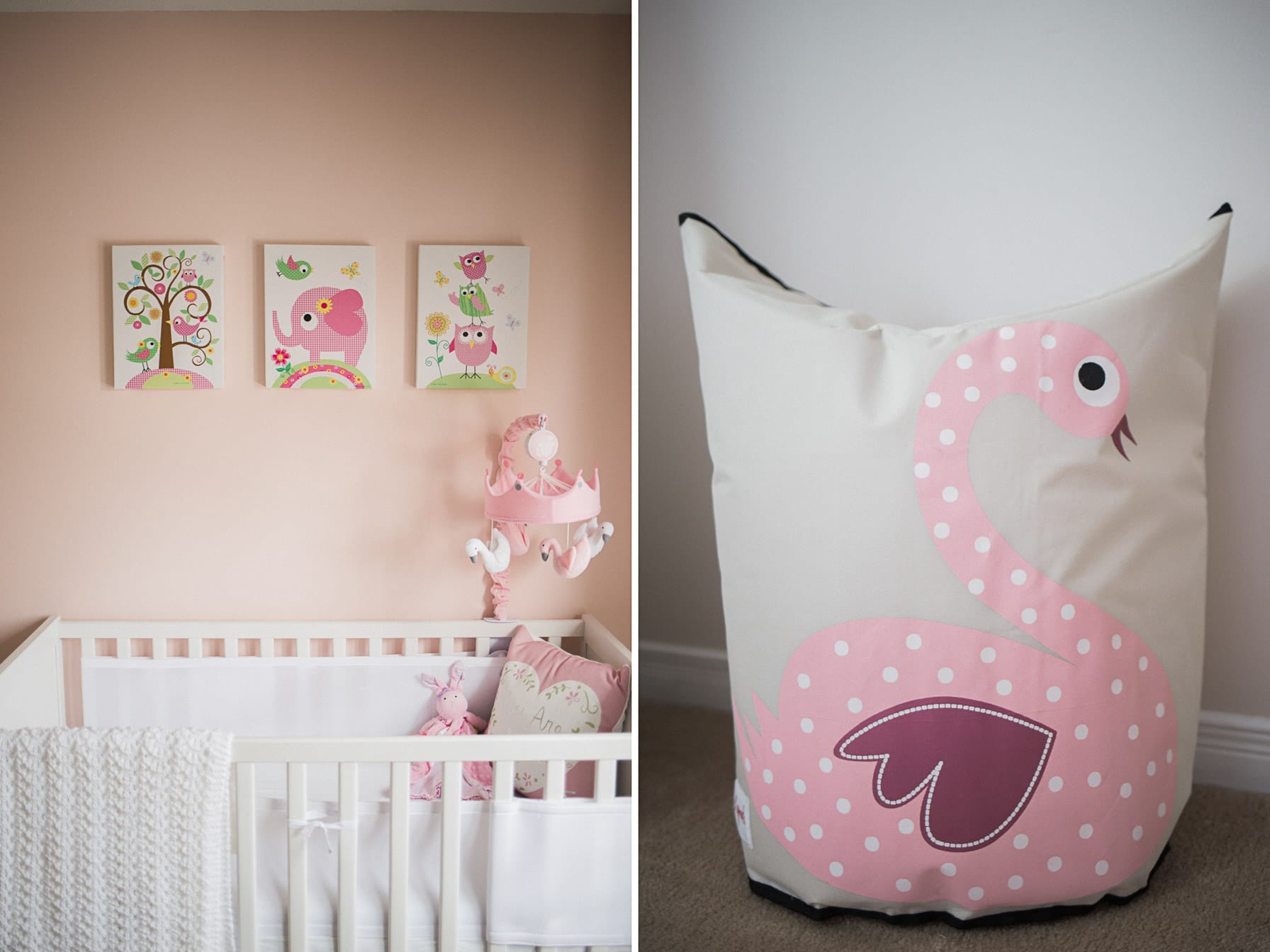 at home maternity ottawa - baby nursery details