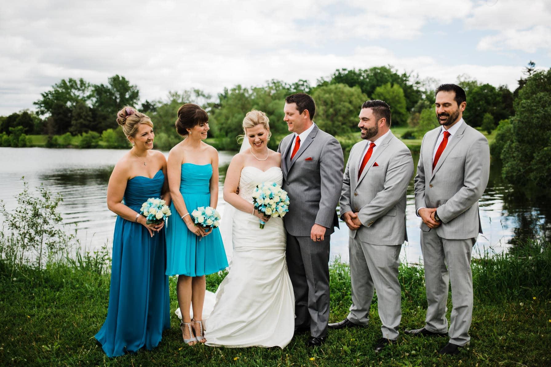 Lago Bar and Grill Wedding - Wedding Party