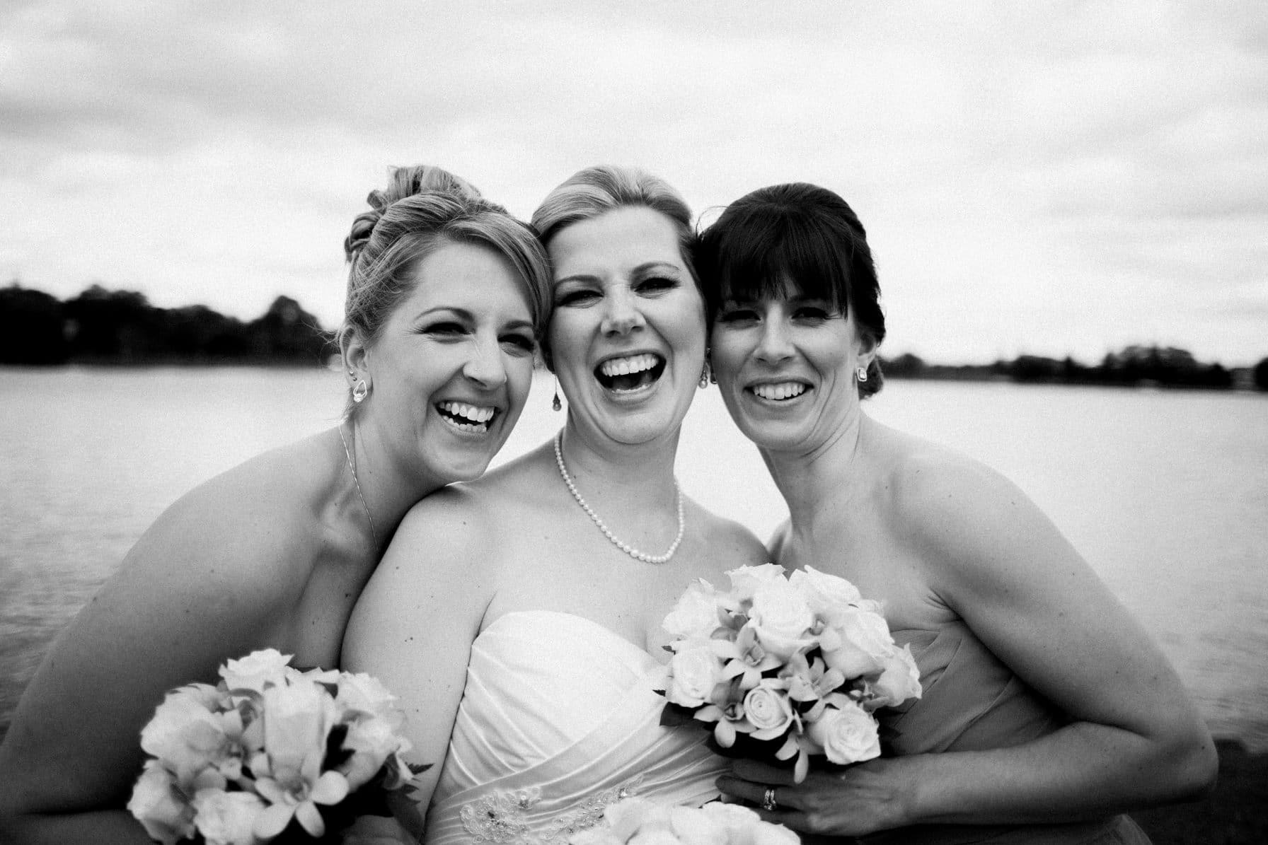 Lago Bar and Grill Wedding - Bridemaids