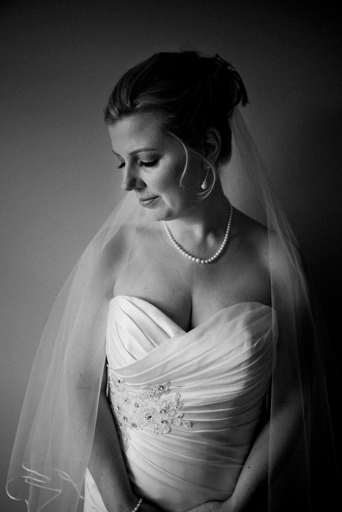 Lago Bar and Grill Wedding - Bride poses