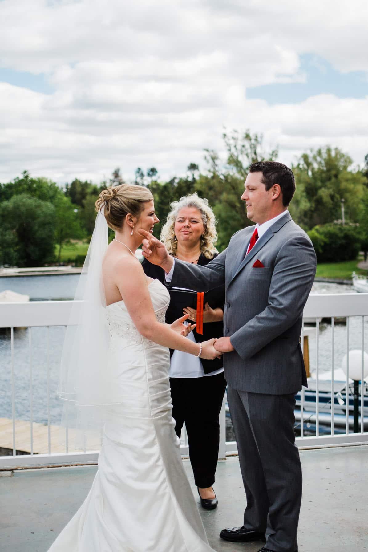 Lago Bar and Grill Wedding - Wedding Ceremony