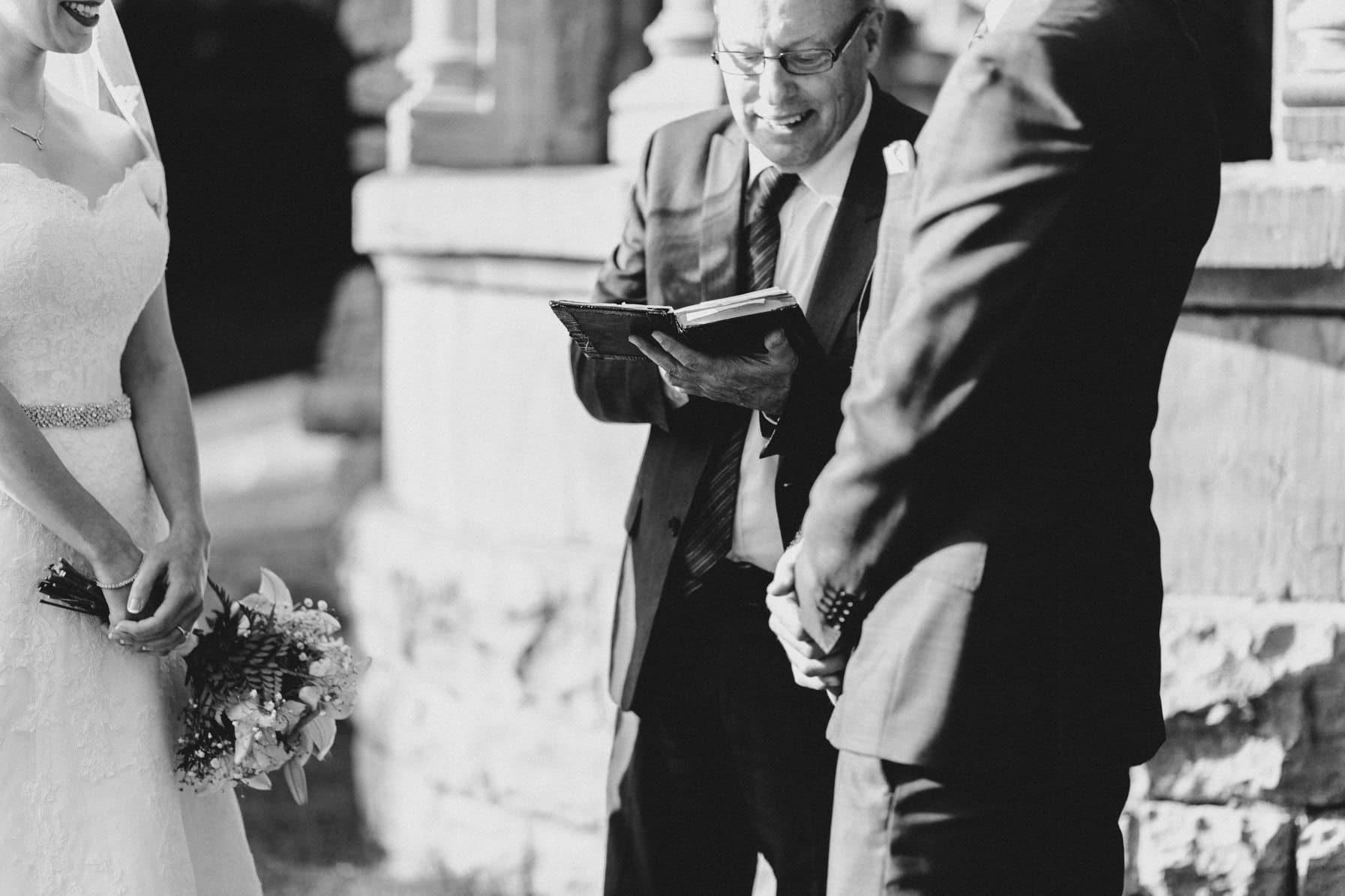 Ceremony - Intimate Wedding Mackenzie King Estate