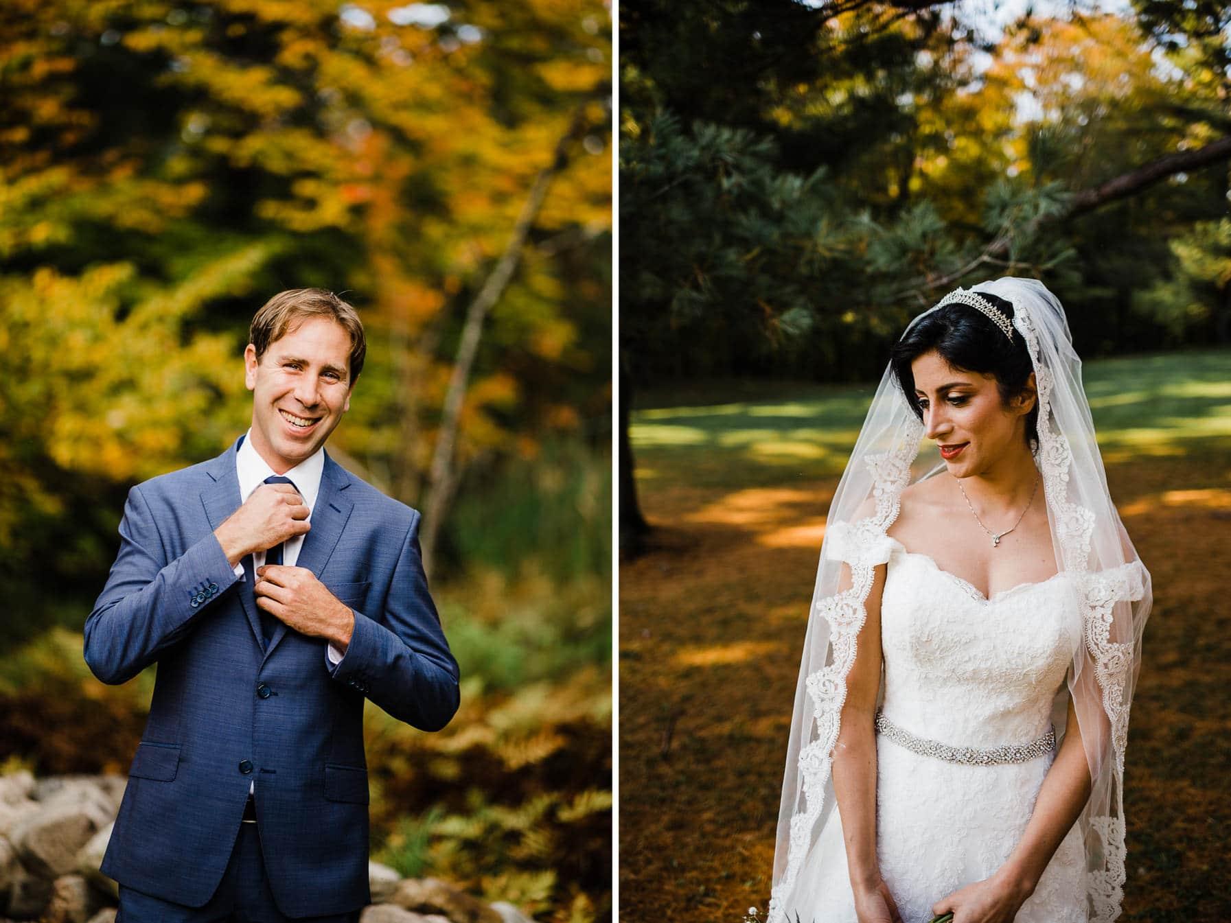 Wedding Portraits - Intimate Wedding Mackenzie King Estate