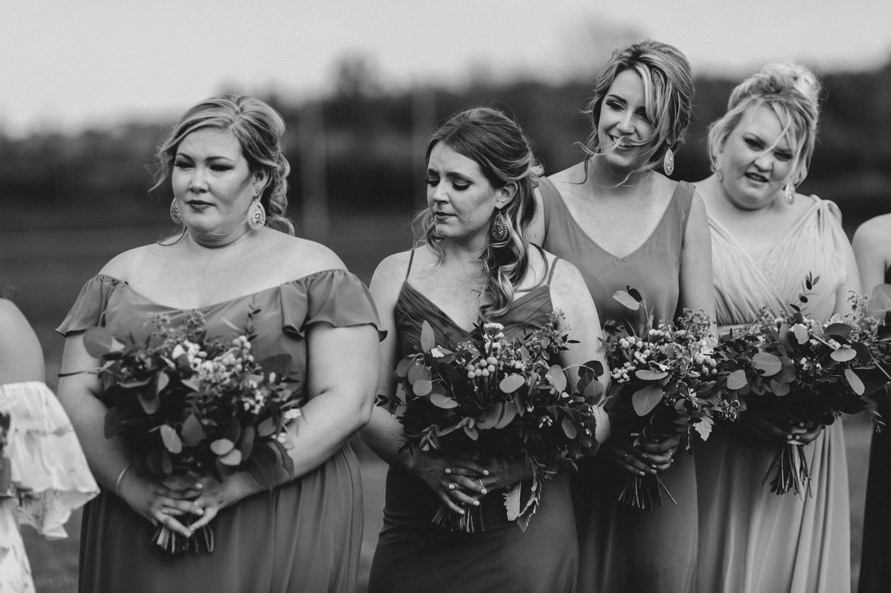 emotional vows - summer farm wedding