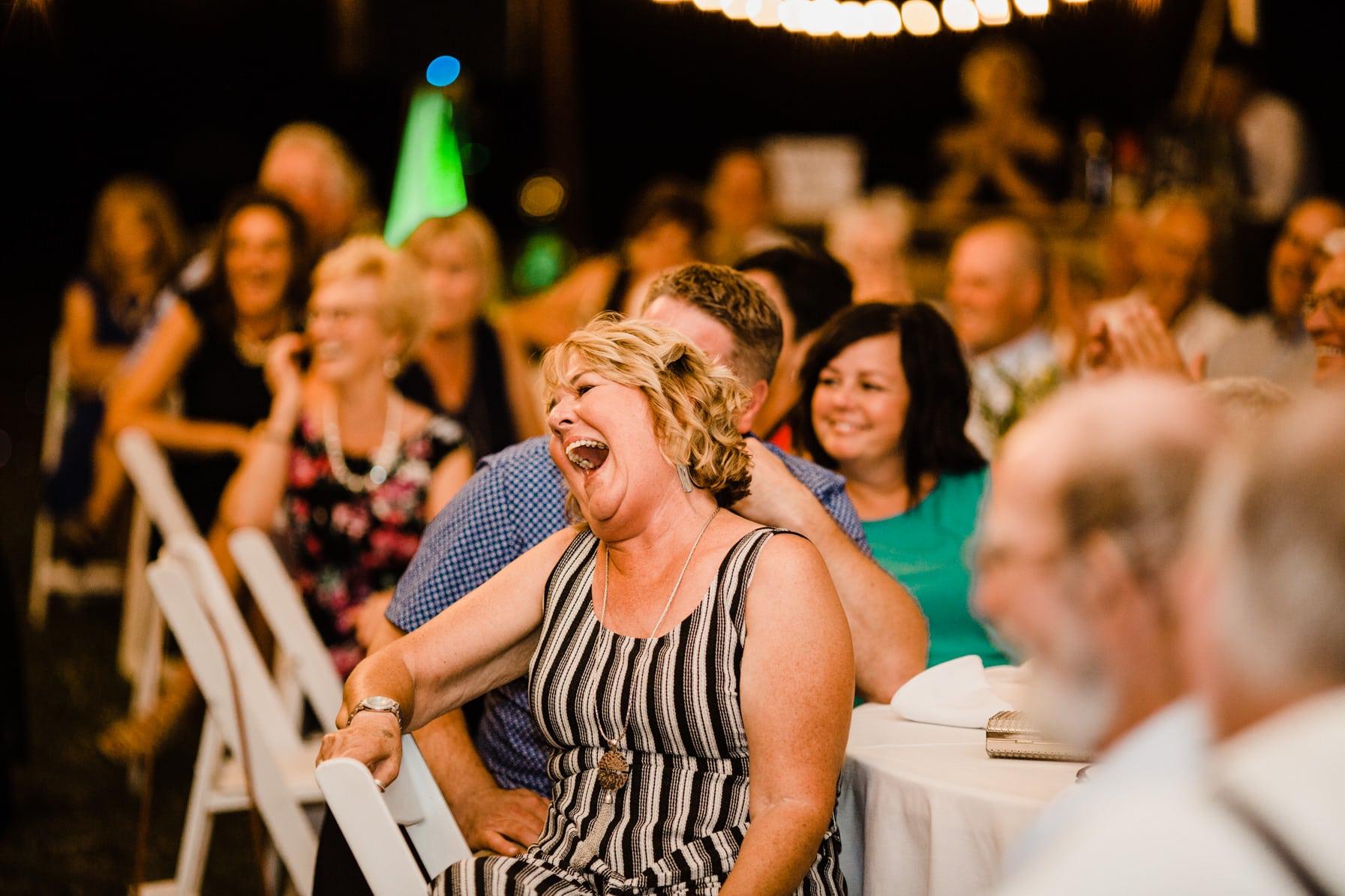 funny speeches - summer farm wedding