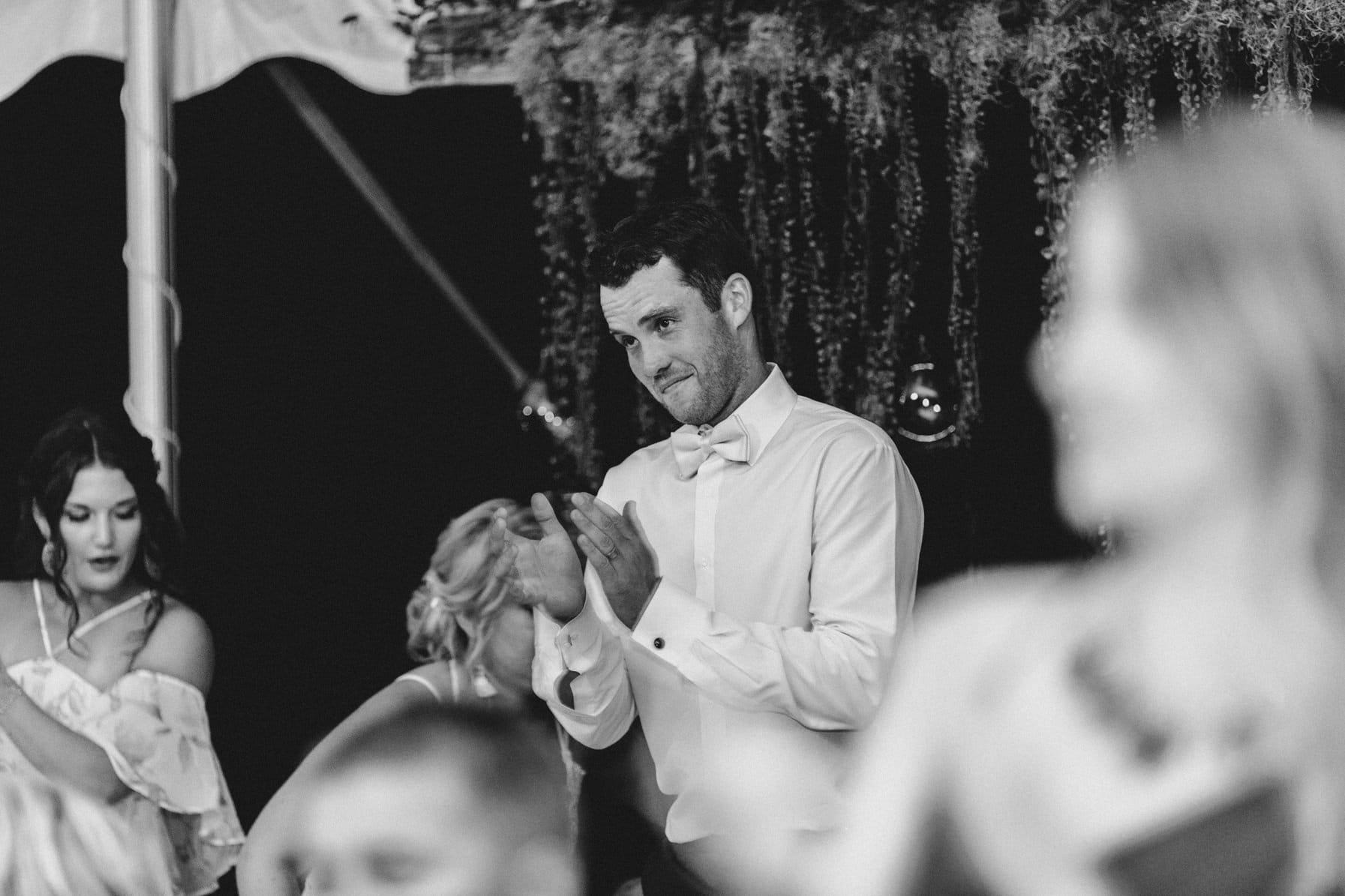 emotional speeches - summer farm wedding