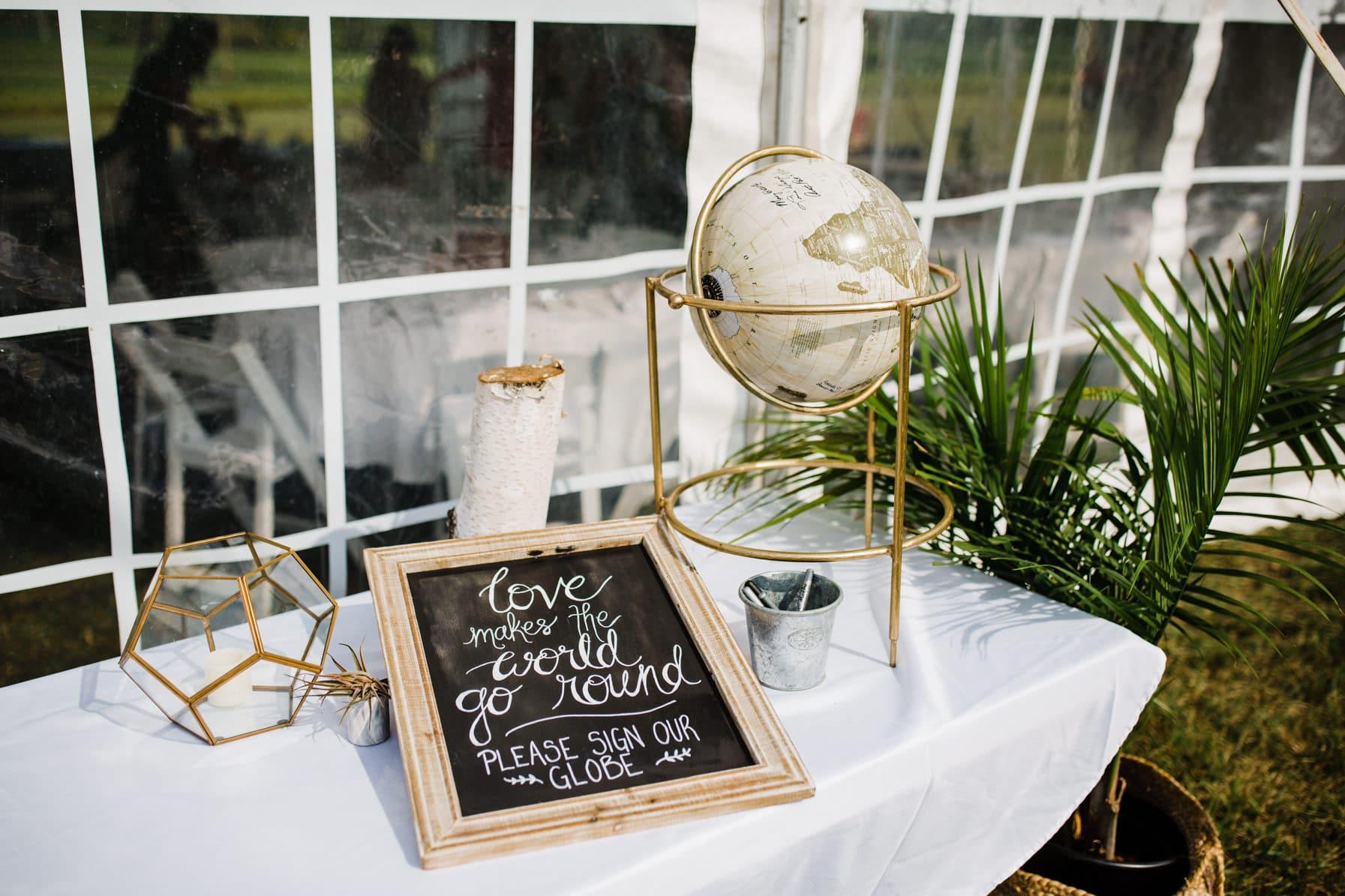 decor details - summer farm wedding